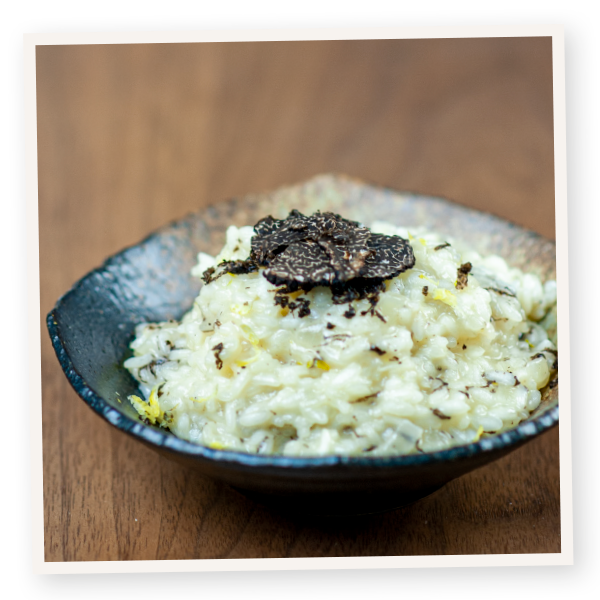 Millgrove Truffles risotto. Image: Anthony Georgeff