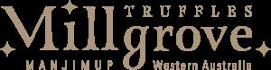 Millgrove Truffles logo gold